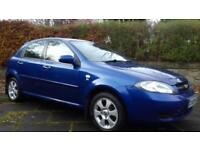 41K 2009 Chevrolet Lacetti 1.6 SX MOT 05/18 LOW MILEAGE (Civic Corsa Focus)