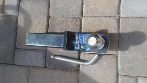 """2"""" trailer hitch and ball"""