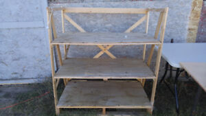 WOODEN SHELVES FOR SALE DIFFERENT SIZES