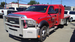 2015 Ram 5500 SLT Cab and Chassis 4x4 Red