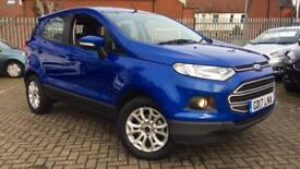 2017 Ford EcoSport 1.5 TDCi 95 Zetec 5dr Manual Diesel Hatchback