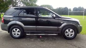 Kia Sorento 2.5 CRDI XE Good / Bad Credit Car Finance (black) 2009
