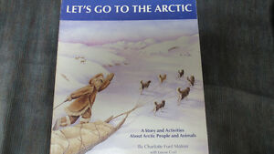 Artic People and animals book