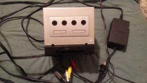 GameCube with RARE Game boy Player
