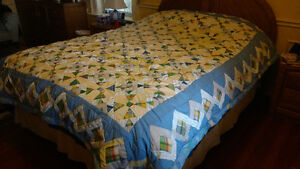 Quilt, Bedspread, 'Dancing Bowties'  NEW STOCK