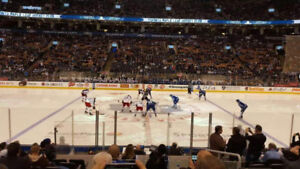 Toronto Maple Leafs vs Pittsburgh Penguins Tickets LOWER BOWL X4