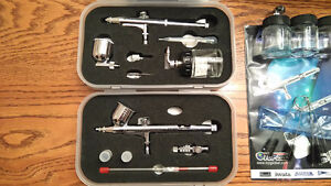 NEW Complete airbrush set for sale, paint & cleaning kit Kingston Kingston Area image 3