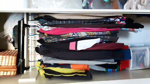 I have lots of clothes to go all sizes