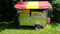 HOT DOG CART FOR SALE OR TRADE FOR CAR