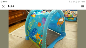 Baby tunnel toy fishe price only £1