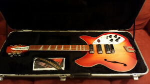 Rickenbacker 1993 Plus 12 string NEW Never Played