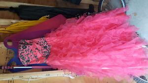 Size 8 Coral Prom dress