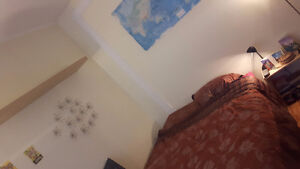 1 furnished bedroom - all inluded -  available now