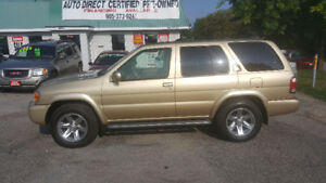 2004 Nissan Pathfinder 4X4 *** FULLY LOADED SUV *** CERT $4995