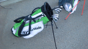 Taylormade irons, driver, bag and Odyssey putter