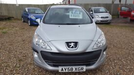 Peugeot 308 diesel with service and mot