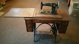 Improved Reliance treadle sewing machine