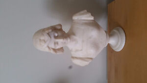Beautiful marble bust 100 years old