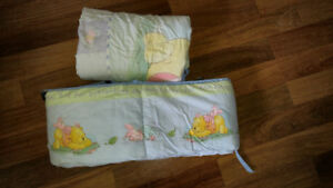 Crib bumper and quilt