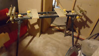 Portable Mitre Saw Stand On Wheels
