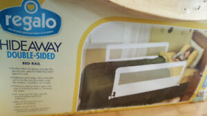 Regalo Double Sided Hideaway Bed Rails - New in box
