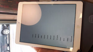 Apple iPad Air MF529LL/A (32GB, Wi-Fi + CELL  White with Silver
