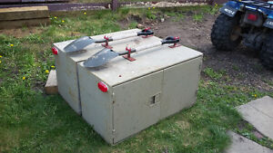 two tool boxes