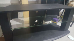 "42""-75"" Television Glass Stand"