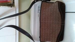 Coach purse and Tommy Hilfiger purse