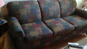 SOFA AND LOVESEAT. WELL MADE AND COMFORTABLE
