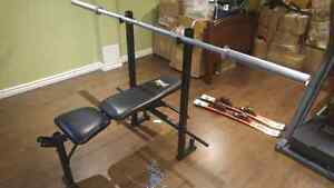 Everlast bench press and weights SEND OFFERS