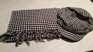 Womens Hat and Scarf