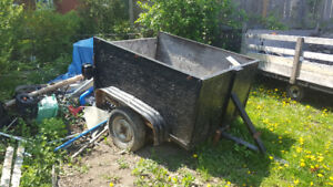 Utility trailer for sale  150 $