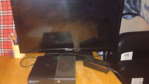 500gb Xbox 360, tv, controller and 15 games