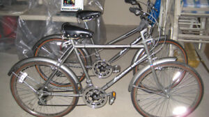 Brand New Male and Female Classic 10 Speed Bicycles