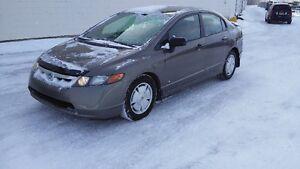 2008 Honda Civic Sedan Safety e-test