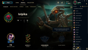 SELLING LVL30 LEAGUE OF LEGENDS ACCOUNT