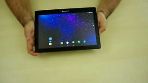 """10"""" Inch Lenovo Tablet With 16 GB Memory, Case And Charger!"""