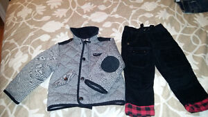 Boys Never worn jacket and pants 12-18 mth