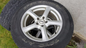 17 in Toyo A/T 245 65 17  on Rims