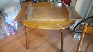 solid maple table for sale