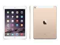 Apple iPad Air 2 16gb wifi +sim unlocked