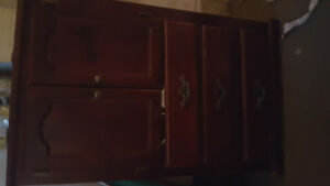 Solid Wooden storage cupboard moving sale everything must go NOW
