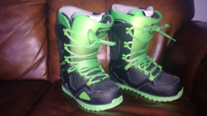 Almost Brand new size 10 snowboard boots