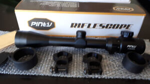 Rifle scope 3-9x40 Red/Green sights