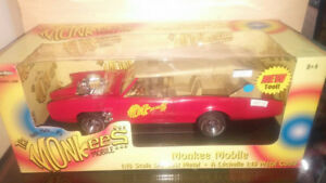 Monkee Mobile Die Cast Model Collectible Car