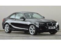 2017 BMW 2 Series 218i SE 2dr [Nav] Coupe petrol Manual