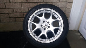 Set of Rims (4), Excellent Condition, Fits to Mersedes S500