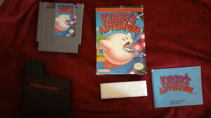 Kirby adventure for nintendo nes