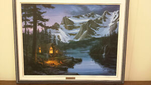 Secluded Paradise -Fred Buchwitz Oil Painting